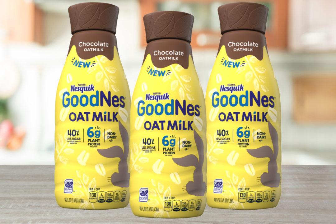 Nesquik GoodNes chocolate oat milk