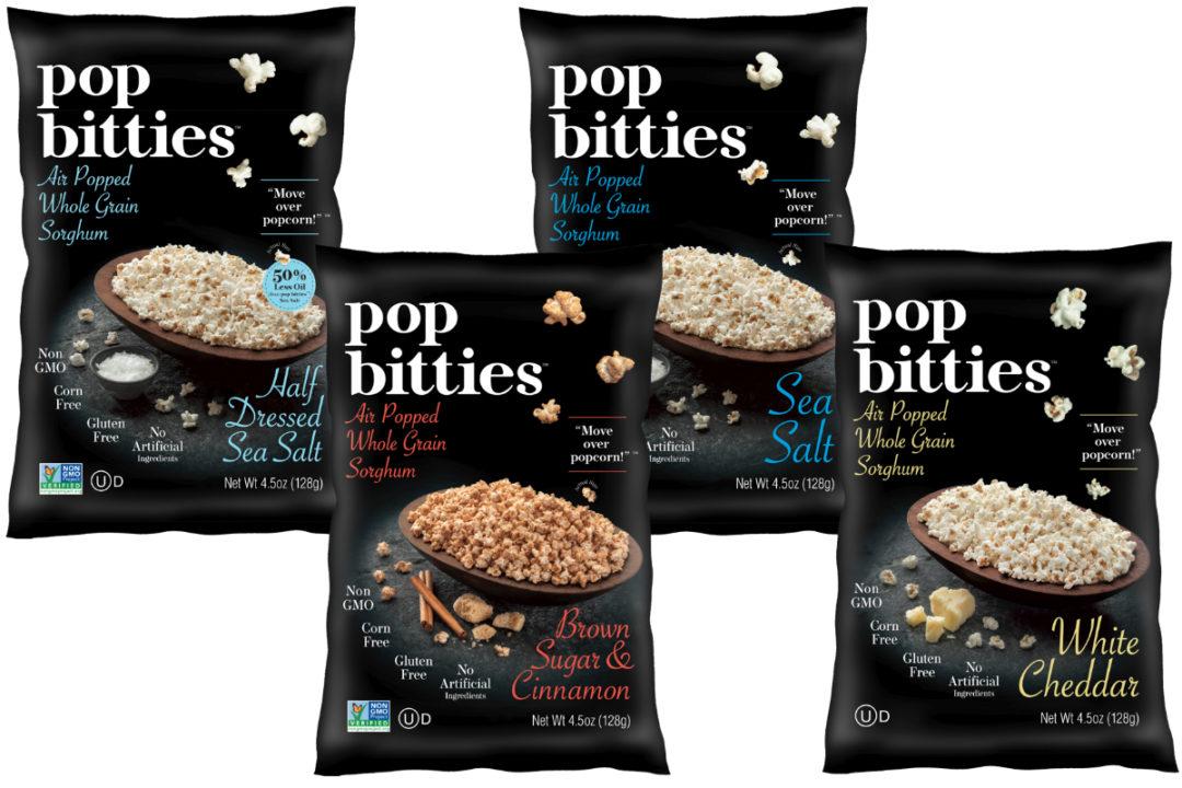 Pop Bitties air popped whole grain sorghum snack