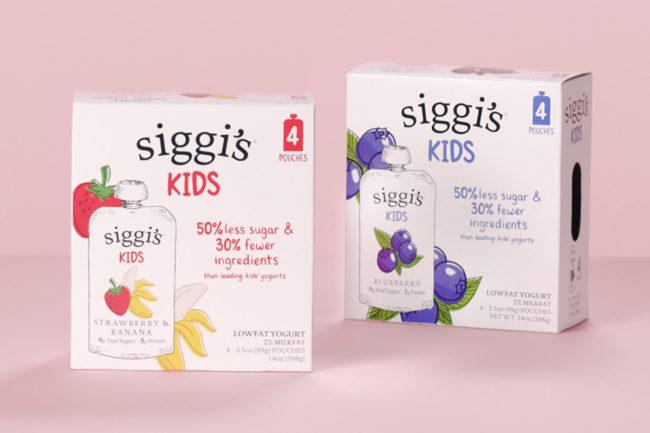 Siggi's Kids yogurt pouches