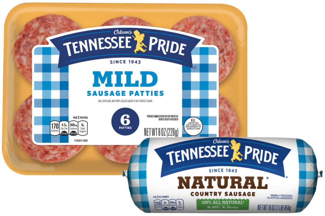 Tennessee Pride sausage products