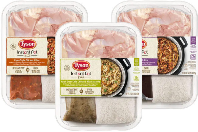 Tyson Instant Pot Kits