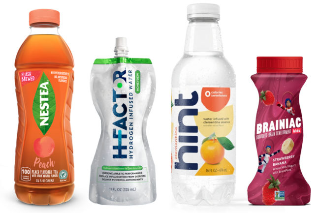 New beverages with a reduced sugar positioning