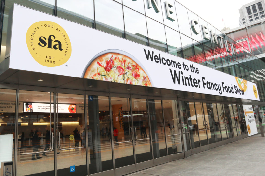 Winter Fancy Food Show 2020 entrance