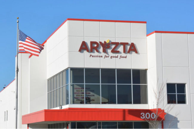 Aryzta distribution center