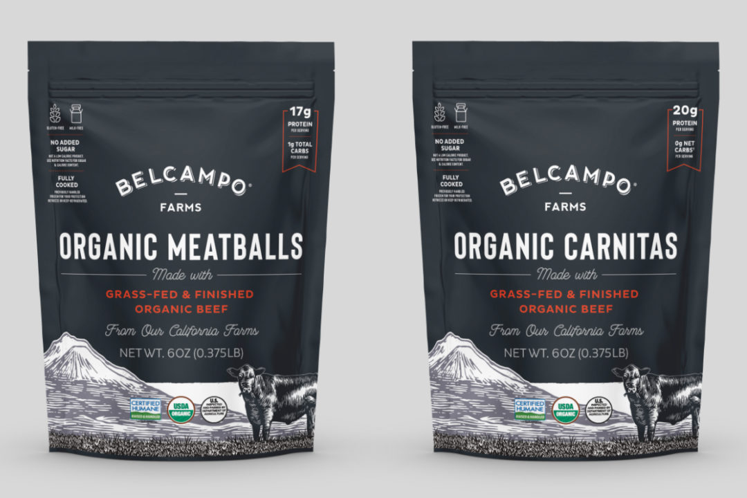 Belcampo meatballs and carnitas