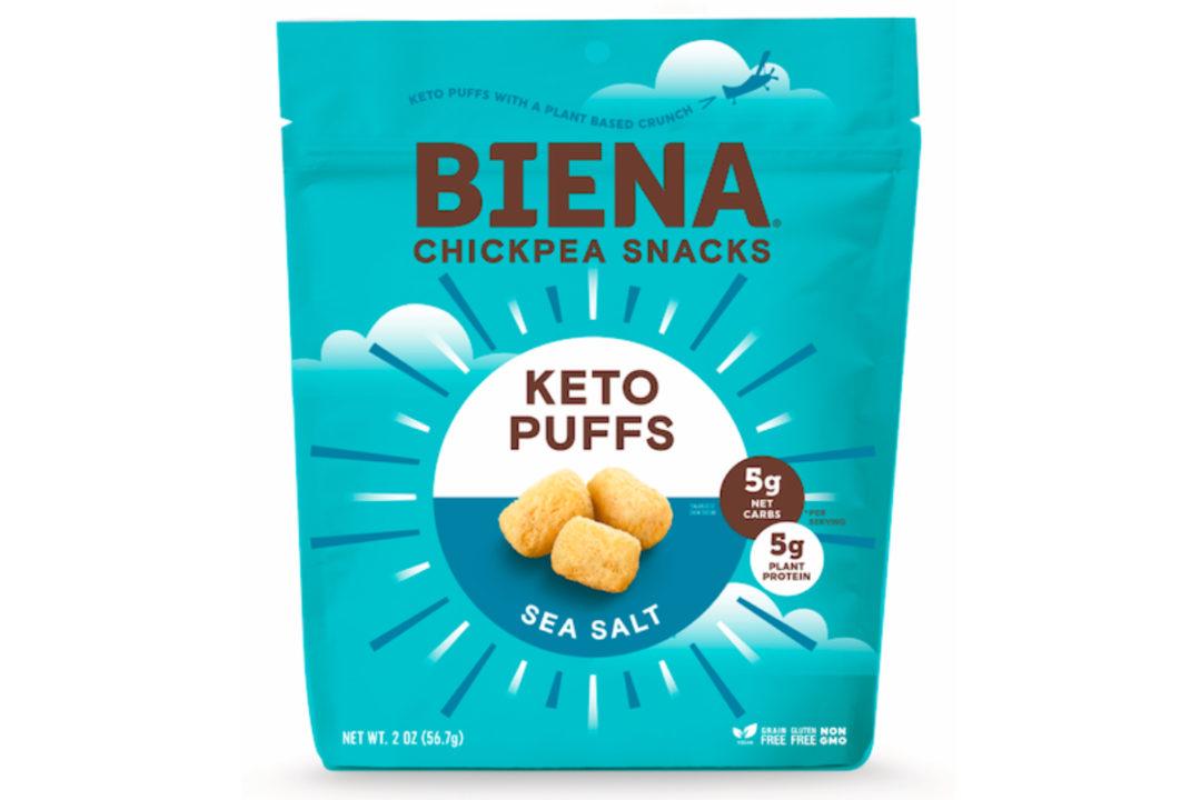 Biena Snacks Keto Puffs