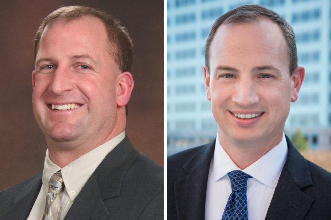Clint Walters and John Forsythe, Hormel Foods