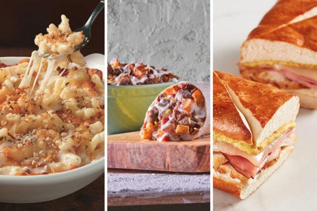 New menu items from Fazoli's, Moe's Southwest Grill, McAlister's Deli