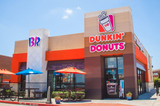 Dunkin and Baskin-Robbins restaurant