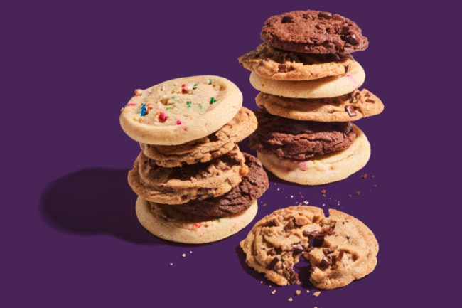 Insomnia Cookies vegan cookies