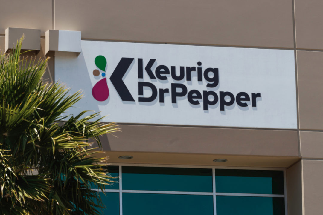 Keurig Dr Pepper sign