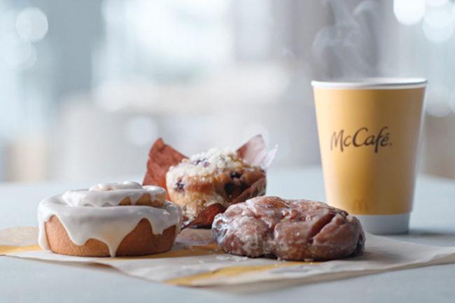 McDonald's McCafe bakery items