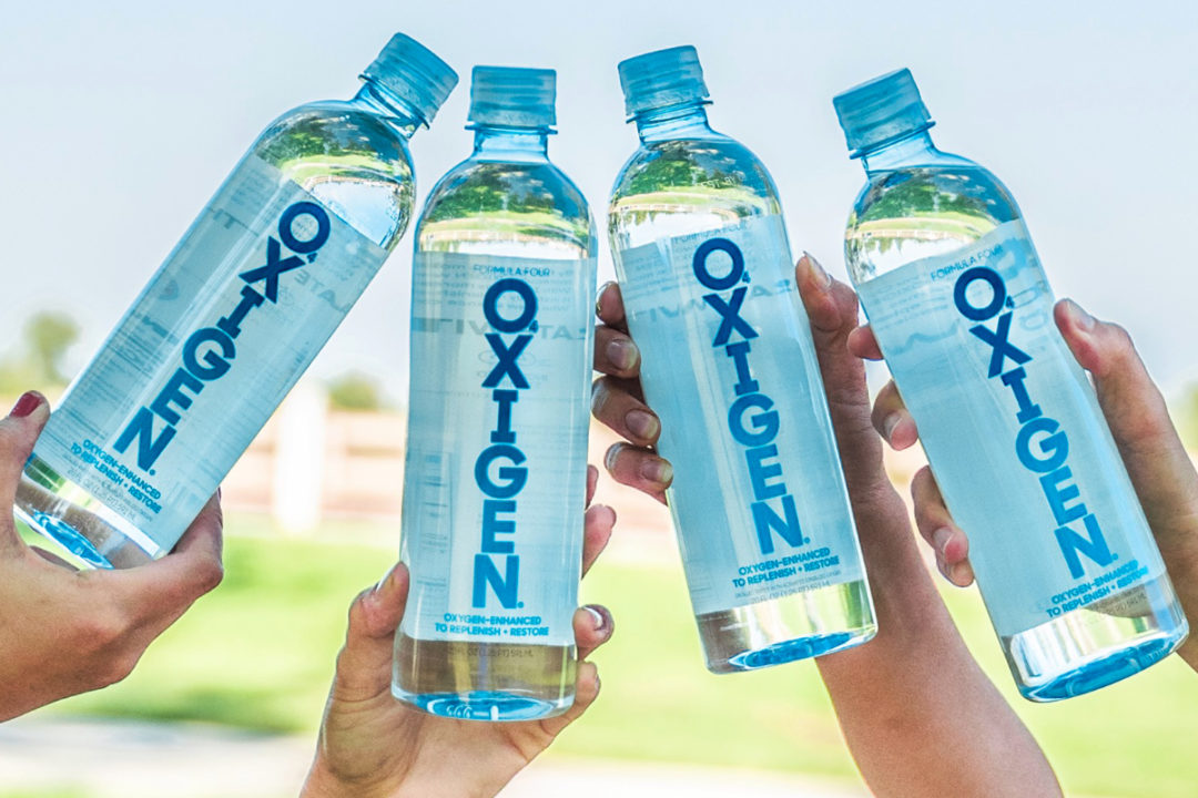 Oxigen pH balanced water infused with oxygen