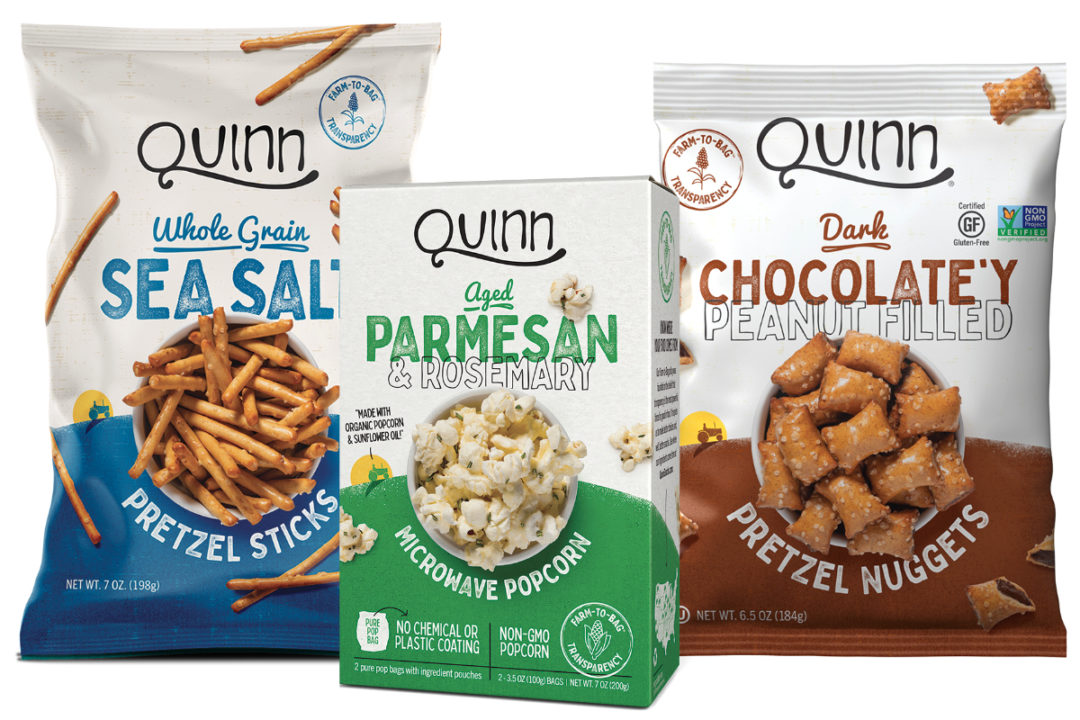 Quinn Snacks products