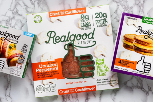 Real Good Foods products