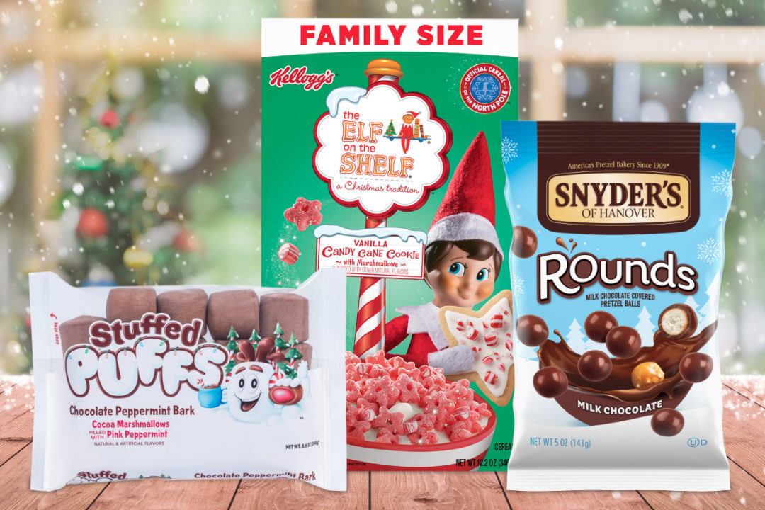 New products from Kellogg, Campbell Soup, Stuffed Puffs