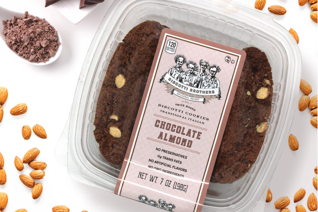 Biscotti Brothers chocolate almond biscotti