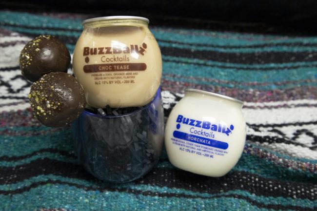 BuzzBallz X Drunken Cake Pops