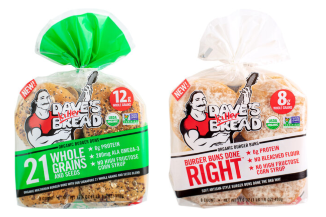 Dave's Killer Breads Buns