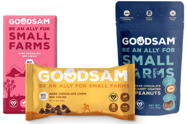 GoodSam Foods chocolate products