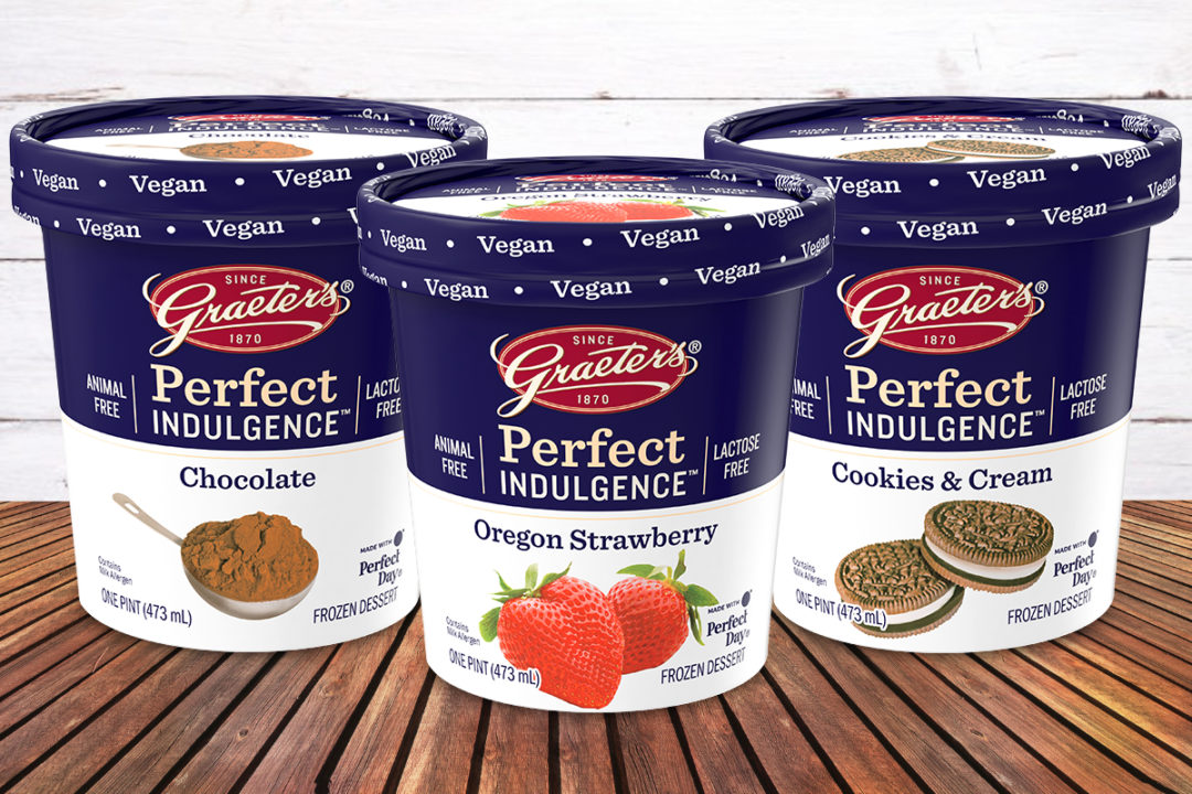 Graeter's Perfect Indulgence animal-free dairy dessert