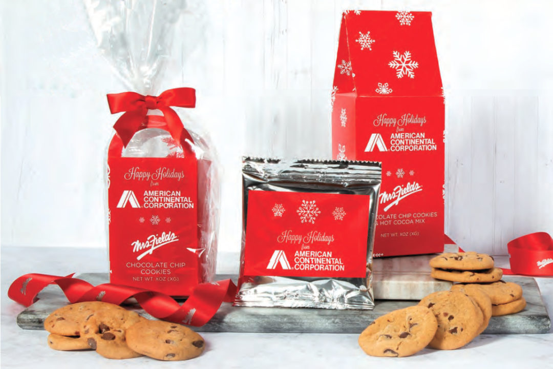 Mrs. Fields Chocolate Inn/Lanco holiday cookie packs