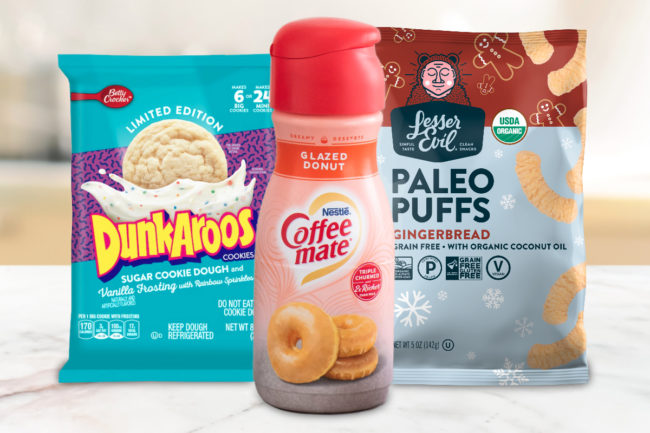 New products from Nestle, General Mills, LesserEvil