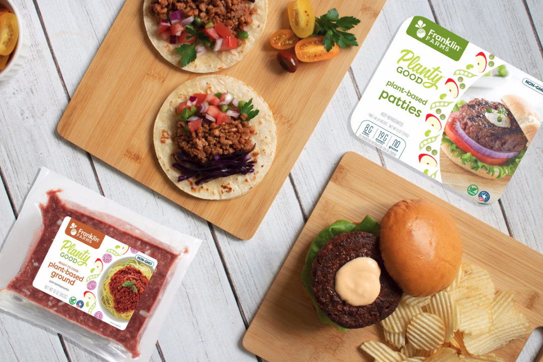 Planty Good plant-based patties and grounds