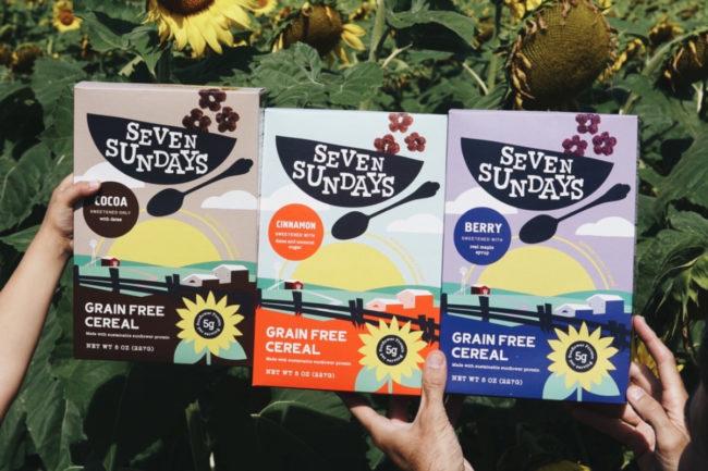 Seven Sundays Grain Free Sunflower Cereal