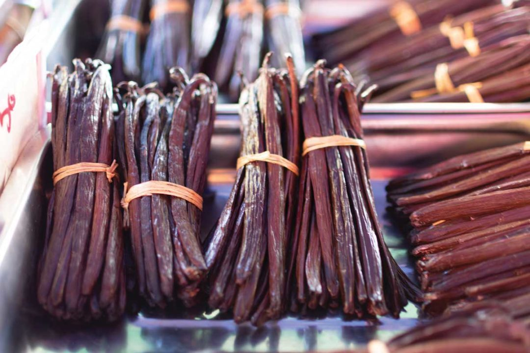 Sustainably sourced vanilla