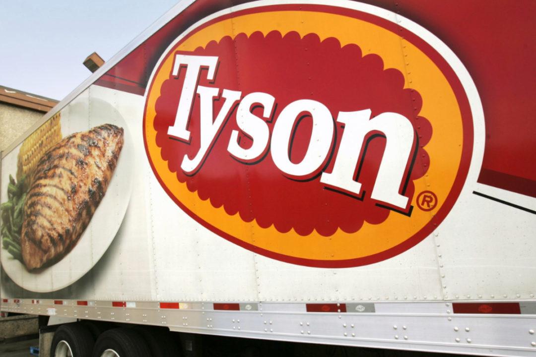 Tyson Foods truck