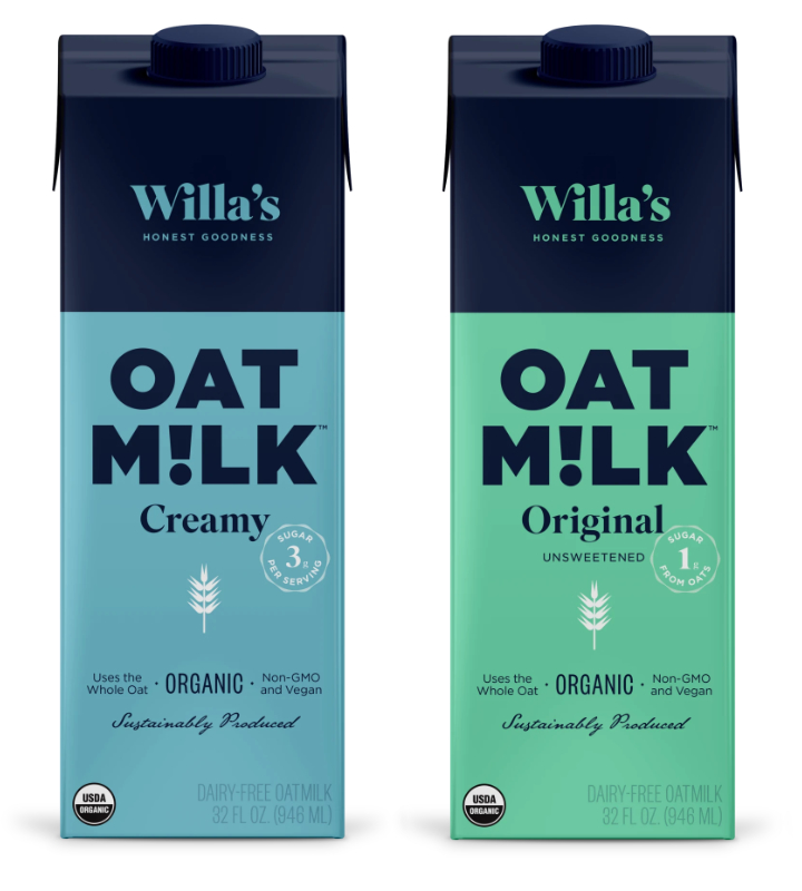 Lait d'avoine de Willa