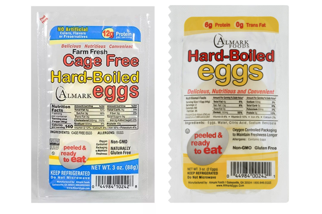 Almark Foods egg products