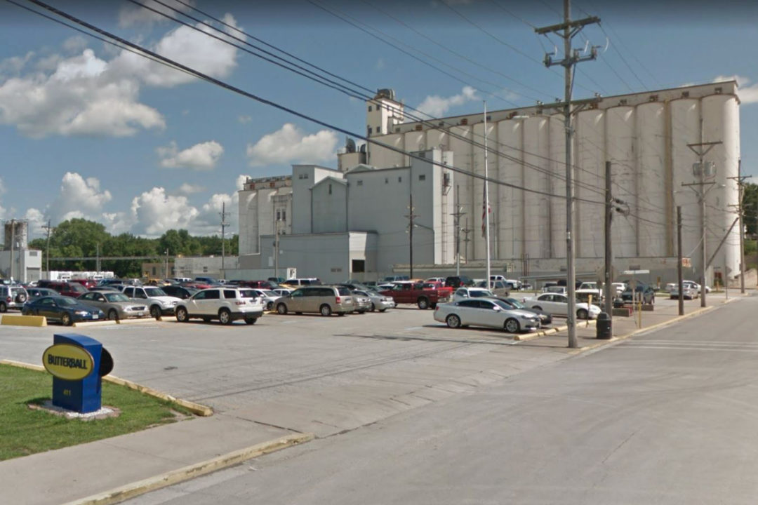 Butterball turkey processing plant in Carthage, MO