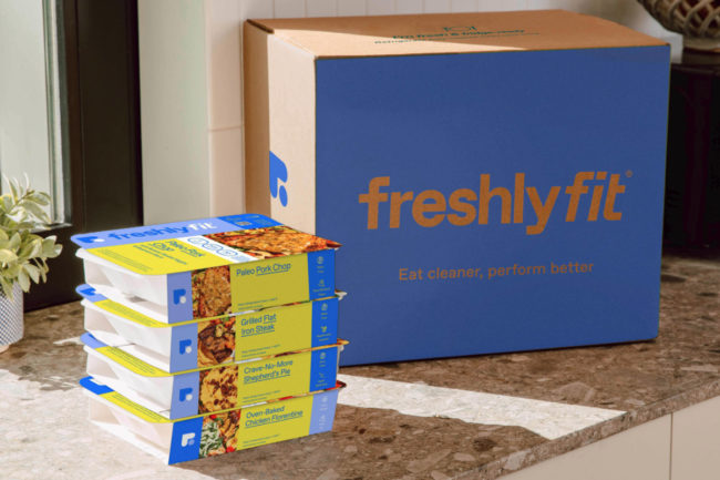 FreshlyFit meal box