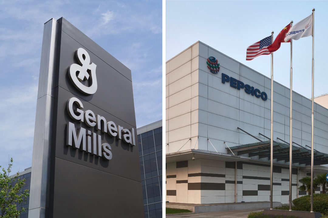 General Mills and Pepsico facilities