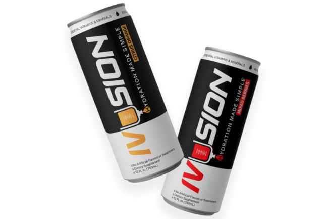 Ivusion hydration drinks