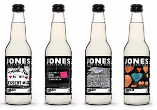 Jones Soda's Messages of Hope bottles