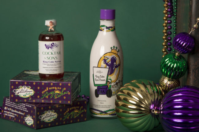 Gambino's King Cake Rum Cream