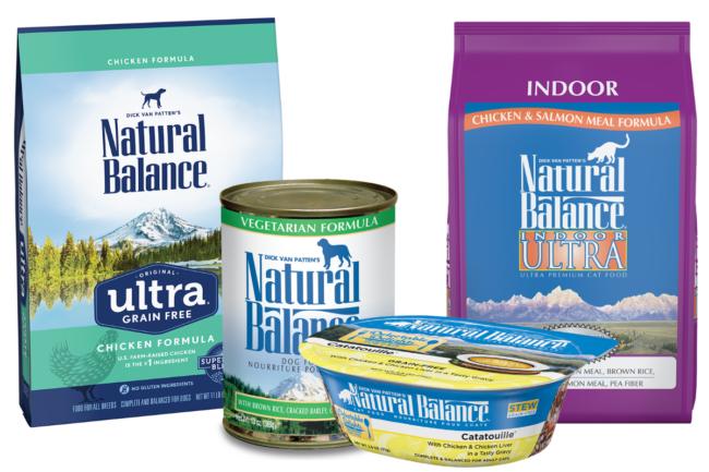 Natural Balance premium pet food