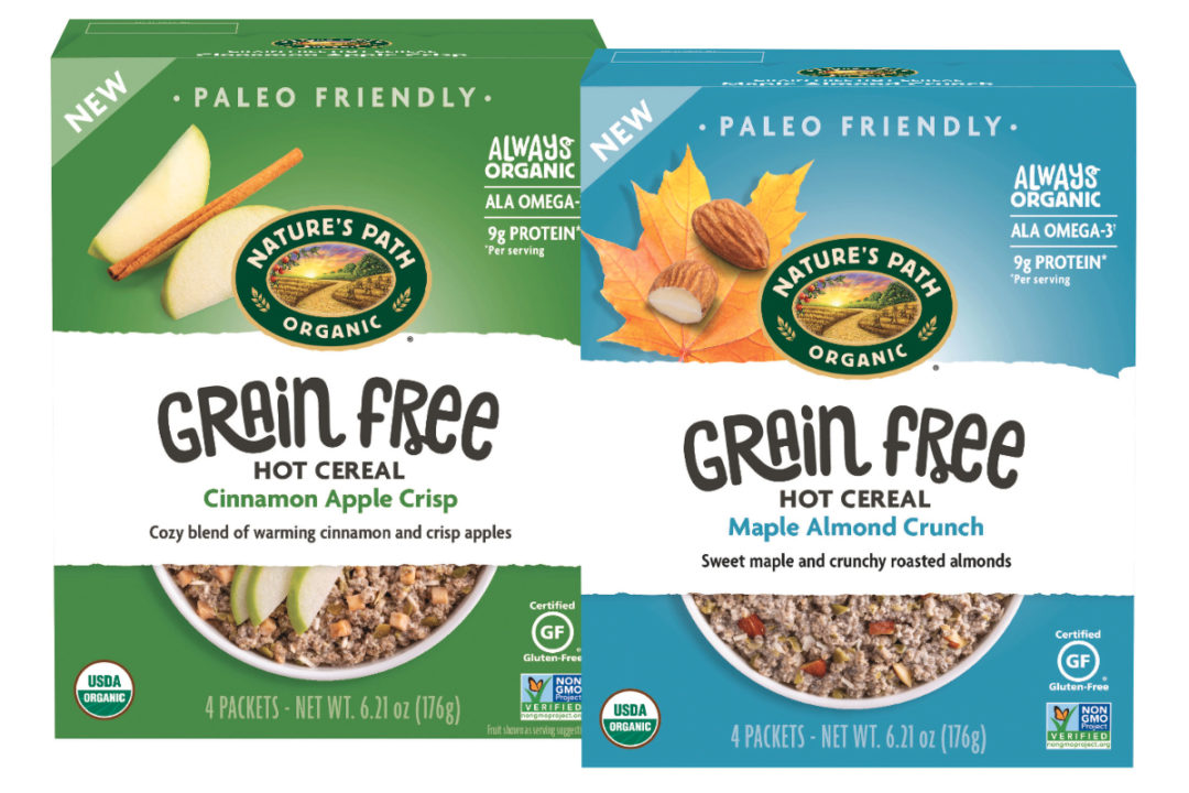 Nature's Path Organic Foods grain-free hot cereal