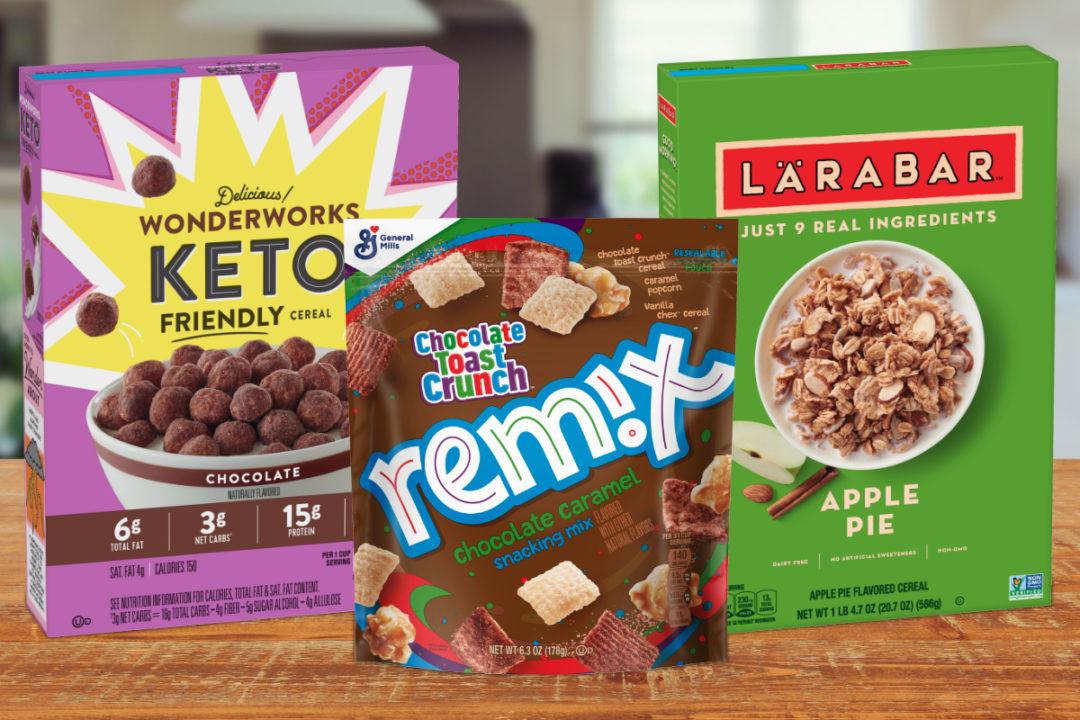 New General Mills cereals