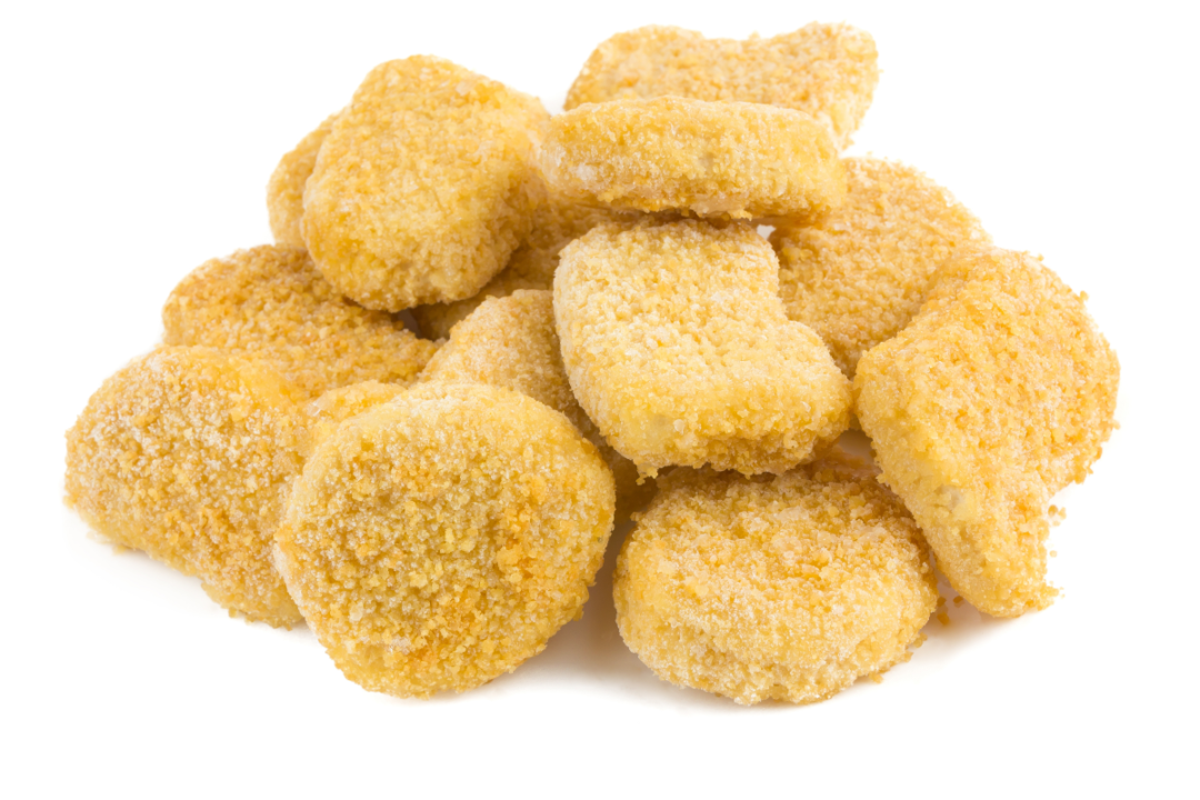 breaded frozen fried food products