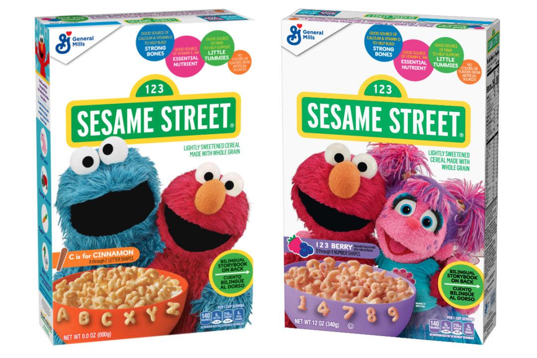 General Mills Sesame Street Cereal
