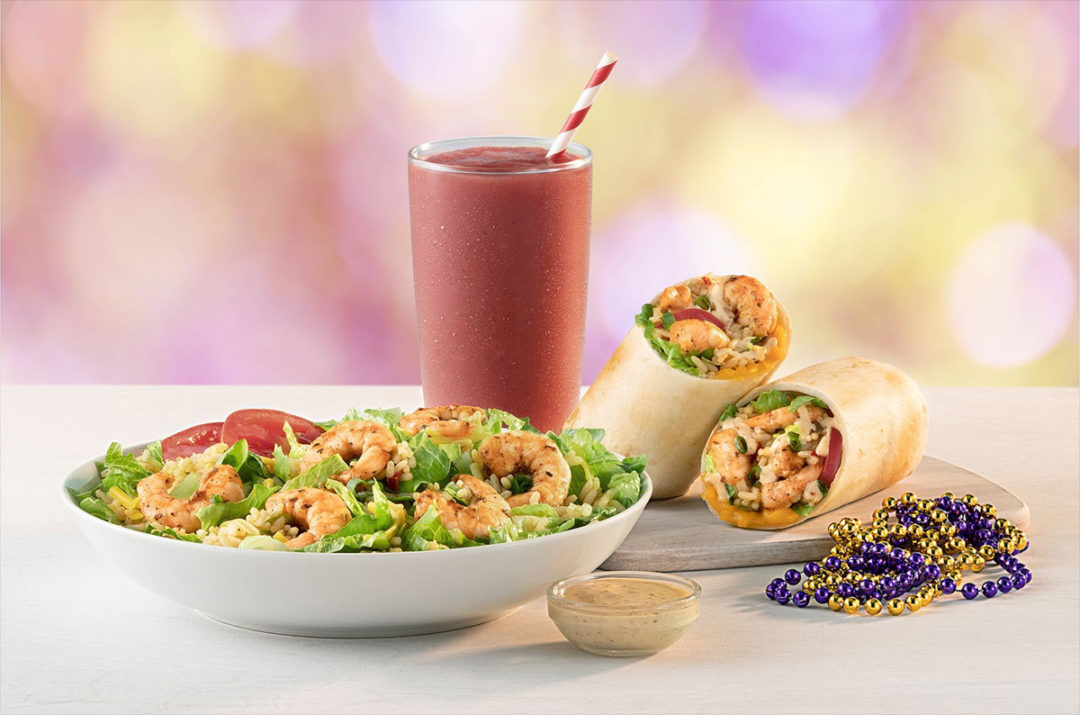 Tropical Smoothie Cafe Mardi Gras menu items