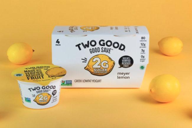 Two Good Good Save yogurt