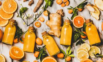 Orange ginger lead