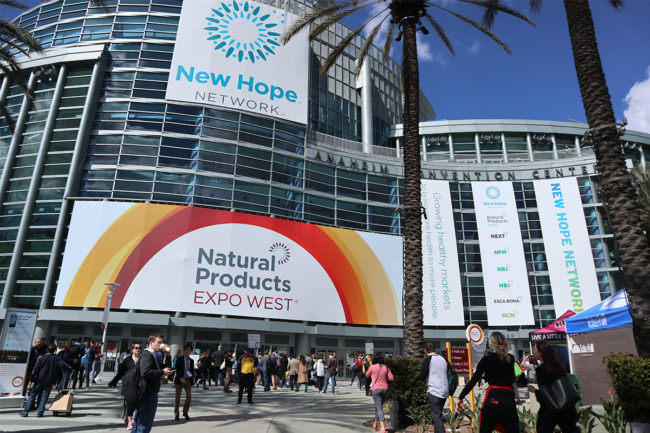 Expo West Anaheim Convention Center