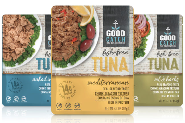Good Catch fish-free tuna pouches