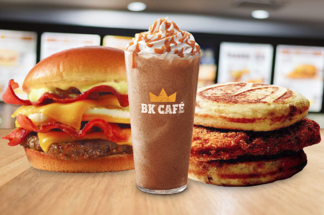 QSR breakfast offerings from Wendy's, McDonald's, Burger King
